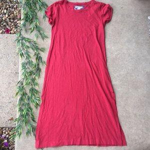 C&C California Short Sleeve Maxi Dress